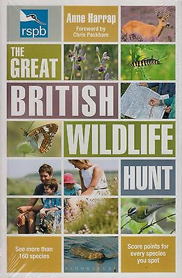 RSPB The Great British Wildlife Hunt by Anne Harrap BRAND NEW BOOK (P/B 2013)