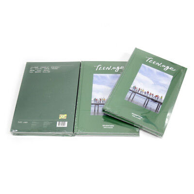 [SEVENTEEN]2nd album-Teen, Age Green Version/NEW,SEALED