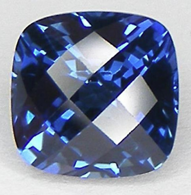 Baguette Bright Blue Lab Created Sapphire 3x2mm to 5x2.5mm