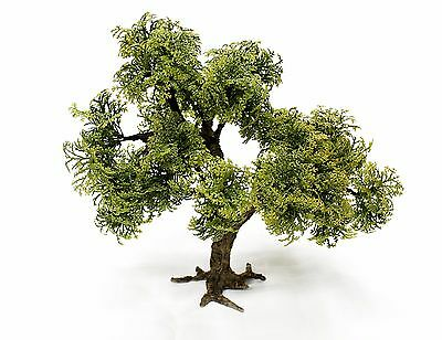 New1/35 scale Model tree (plastic leaves). Realistic tree trunk. TMTP-008 26 cm.