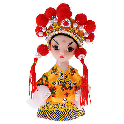 5'' Handmade Chinese Peking Opera Performer Emperor Xuanzong of Tang Dynasty