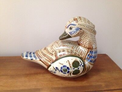 Mexican Pottery Duck Vintage