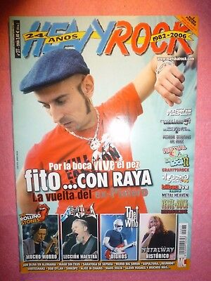 Magazine Heavy Rock Nº 277 Poster Heroes Del Silencio + Iron Maiden / The Who R