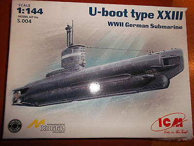 U-boot type XXIII-1:144