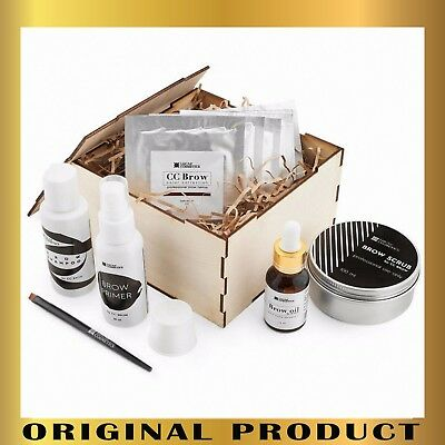 Permanent Make Up Kit Cc Brow Henna By Lucas Cosmetics Small Box