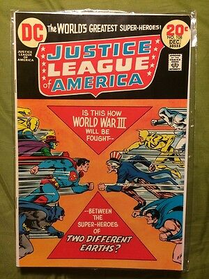 Justice League of America #108 VF- DC JSA x-over 1st New G.A. Uncle Sam Earth-X
