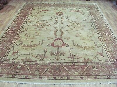 A FASCINATING OLD HANDMADE ZIGLER PERSIAN RUG (320 x 250 cm)