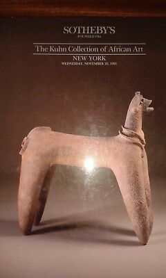 african art sothebys auction catalogue kuhn collection 1991