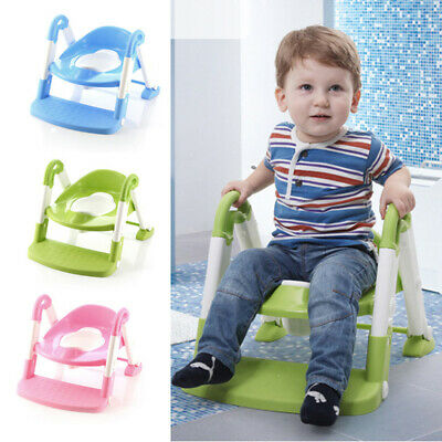 Babyyuga Baby Children Kids Potty Training Toilet Trainer Ladder - 3 Coulors