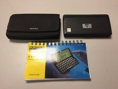 Psion Series 5 PDA 8MB RAM 640p Display with Case & User Guide - UK SELLER