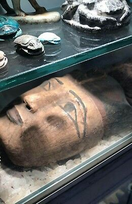 Antique Ancient Egyptian wooden Mask