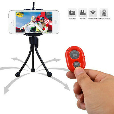 Selfie Bluetooth Fernbedienung Selbstauslöser Remote Shutter iOS/Android TOP·NEW