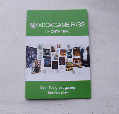 Xbox Game Pass 1-Month Trial Card – Access 100+ Games, 20% Discounts & More!