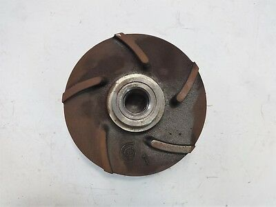 "Goulds 5-Vane Pump Impeller, 6-1/4"", CF8M, #76797"