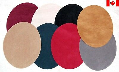 Faux Suede Elbow / Knee Patches - Iron on (Washable)