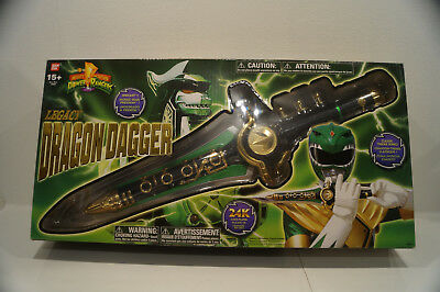 Mighty Morphin Power Rangers Dragon Dagger Legacy Collection