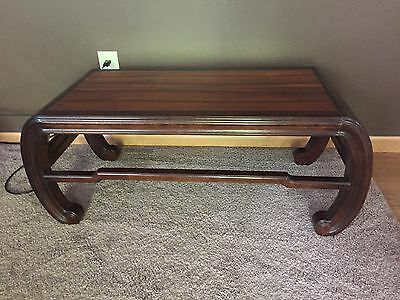 Pleasing Vintage Henredon Ming Asian Style Wood Coffee Table Inlaid Andrewgaddart Wooden Chair Designs For Living Room Andrewgaddartcom
