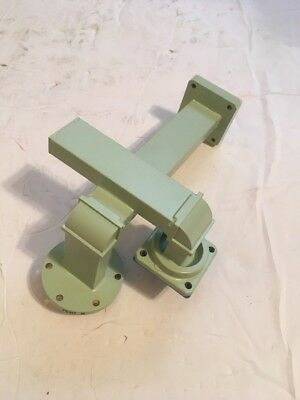 Raytheon Waveguide WR90 Coupler Copper & Brass Ends