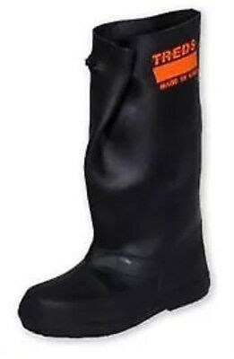 """TREDS 17851 Super Tough 17"""" Pull-On Stretch Rubber Overboots, Medium (One Pair)"""