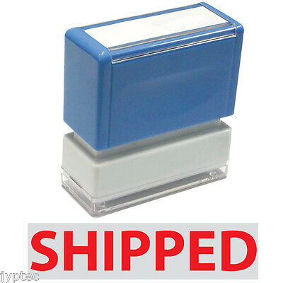 """JYP PA1040 Pre-Inked Rubber Stamp with """"Shipped"""""""