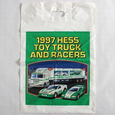 1997 Hess Toy Truck and Racers Bag