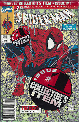 SPIDER-MAN #1   Aug 90  Polybagged with UPC code