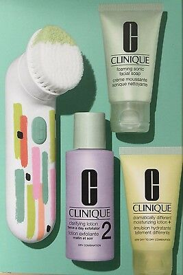 Clinique Sonic System Purifying Cleansing Brush RRP £79 BRAND NEW IN BOX