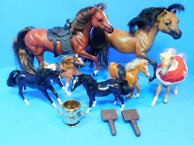 Lot of Grand Champions Horses and Accessories