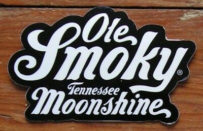 Ole Smoky Tennessee Moonshine ~NEW Logo Decal Craft Spirits Sticker~