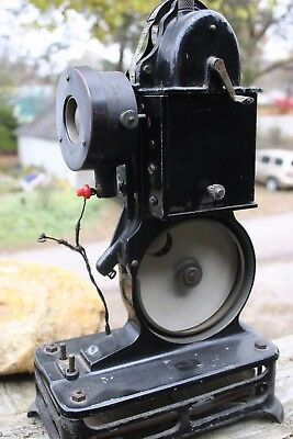 Vintage PATHEX 9.5mm Film Movie Projector and Pathex Film Made In France