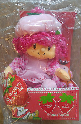 SSC 10'' Scented Raspberry Tart Rag Doll with Rhubarb Monkey (MIB) 2002