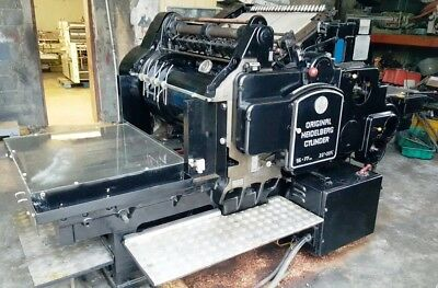 Heidelberg SBG Cylinder press  22 1/2  X 30 1/4