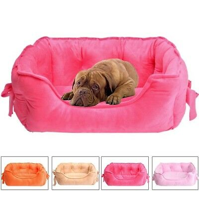Pet Dog Kennel Cat Warm Soft Bed Puppy Cushion Sofa House Mat Blanket Cushion