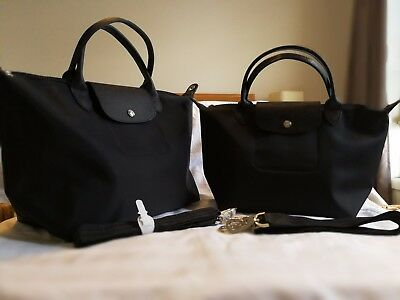 largest selection of fine quality look out for LONGCHAMP LE PLIAGE Neo Black Medium or Small