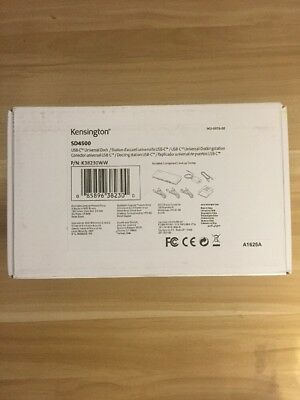 Kensington SD4500 USB-C Docking Station with Power Delivery Charging Sealed box