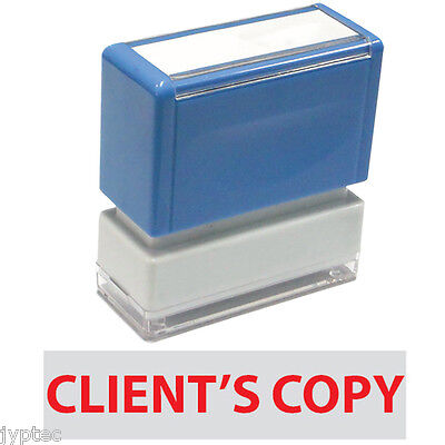Client's Copy - JYP PA1040 Pre-Inked Rubber Stamp