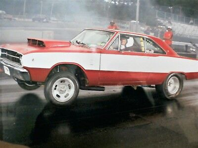 1968 Dodge Dart SUPER STOCK CLONE 9 SECOND STREET/RACECAR NEW ENGINE,TRANNY REAR WITH RECEIPTS AND TIME SLIPS !!