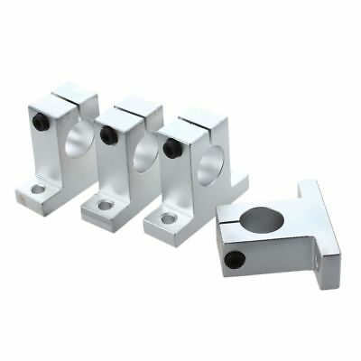 4pcs 20mm Aluminium Shaft Support Pillow Block S8M1