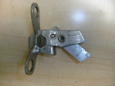 Vintage Vaughan's Improved Safety Roll Jr Camping Can Opener Chicago