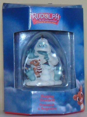 BUMBLE and Rudolph Reindeer Ornament Rudolph Island of Misfit Toys Rare