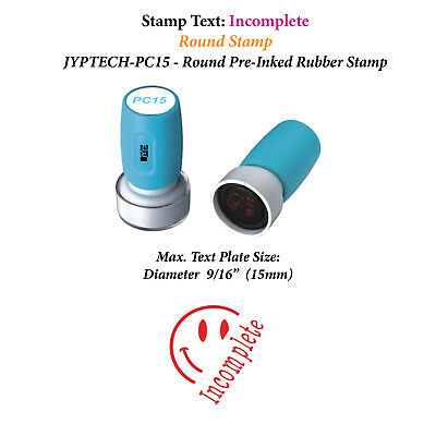 "JYP PA1040 Pre-Inked Rubber Stamp with ""Invoiced"""