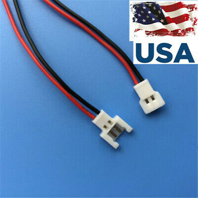 US SHIP JST-DS LOSI 2-Pin Connector plug male female with Wire 40pcs=20pairs