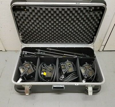 LTM Pepper 4 Light Kit With Pepper Hard Case ( Mint )