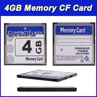 HOT Digital Memory Card 4GB 4G Compact Flash Card CF Card Camera Memory Card UK