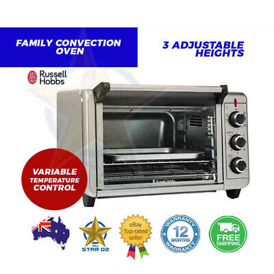 Electric Convection Oven Benchtop Countertop 1500W 20L Portable Toaster