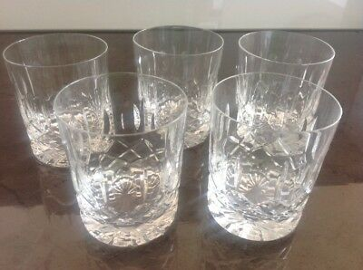 Waterford Whisky glasses Lismore Connoisseur Free Delivery