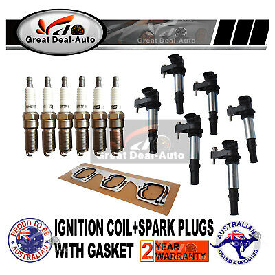 Ignition Coils for Holden Commodore VZ Colorado RC Statesman WL Rodeo RA V6 3.6L