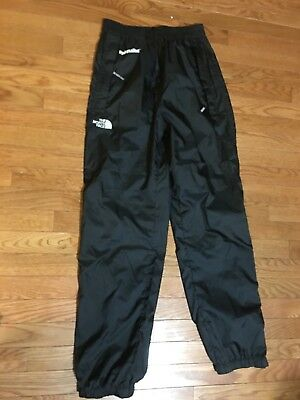 Women's The North Face Hydrenaline Rain Pants Small Black Snow Ski