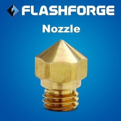 2x Genuine Nozzles for Flashforge 3D Printers and Cocoon Create *NP3D* AU Stock