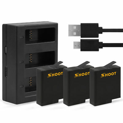 Battery USB Charger for GoPro HERO 6 HERO 5 Black Accessories
